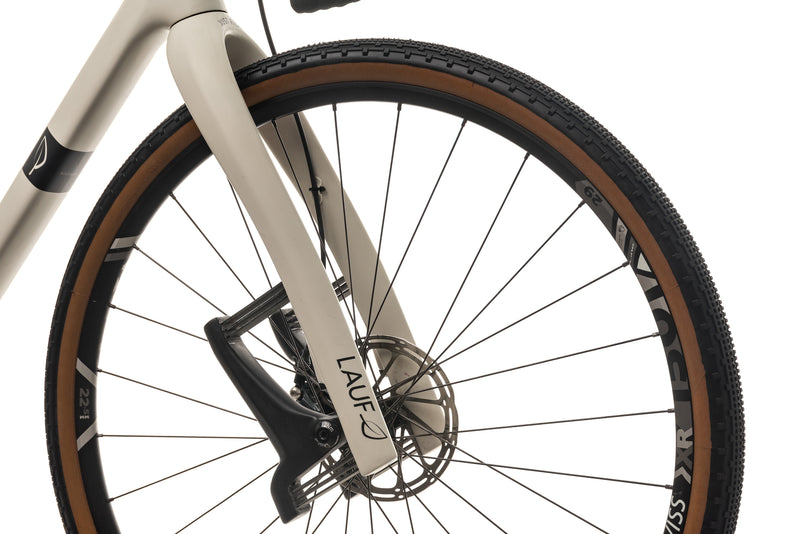 Lauf True Grit Gravel Bike - 2018, Small front wheel