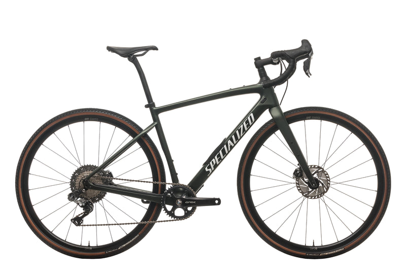 Specialized Diverge Expert Carbon Gravel Bike - 2021, 54cm drive side