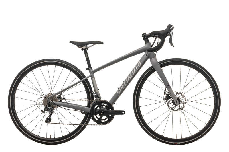 Specialized Womens Diverge E5 Elite Gravel Bike - 2018, 44cm drive side