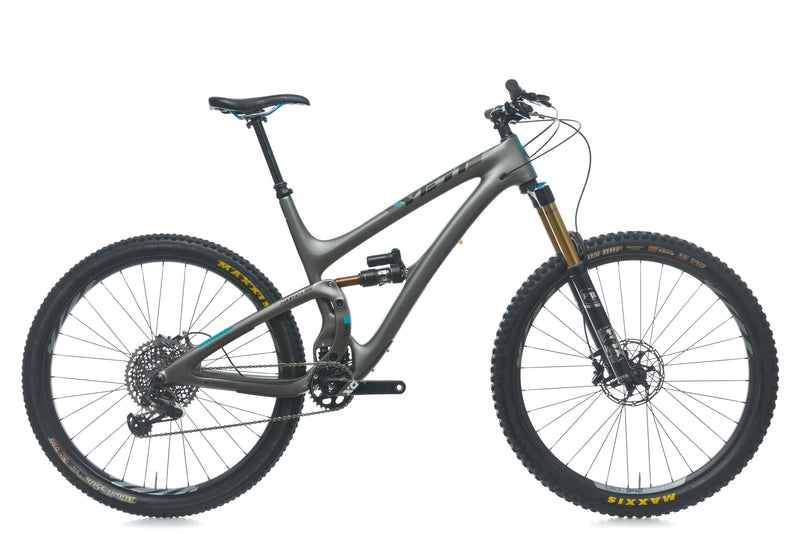 Yeti SB5.5 Turq X-Large Bike - 2017 drive side