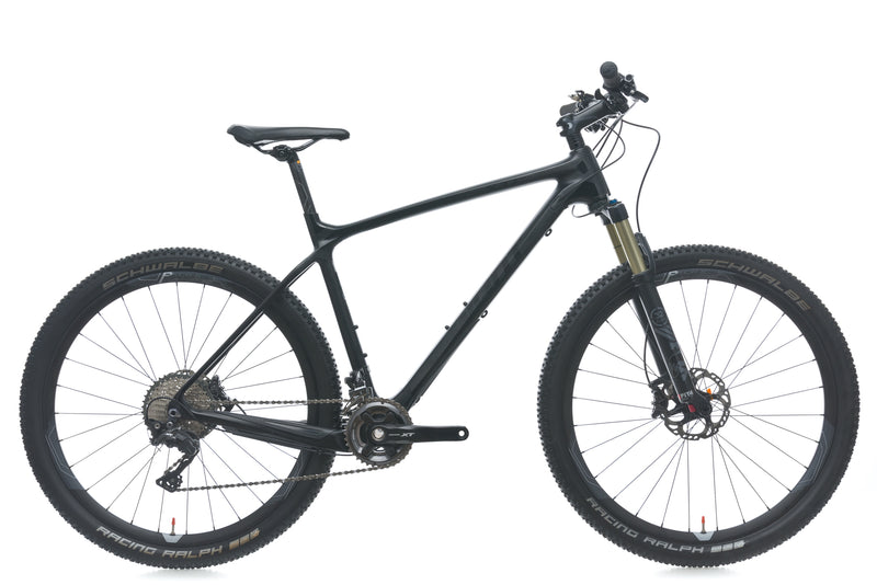 Giant XTC Advanced 27.5 1 Large Bike - 2016 drive side