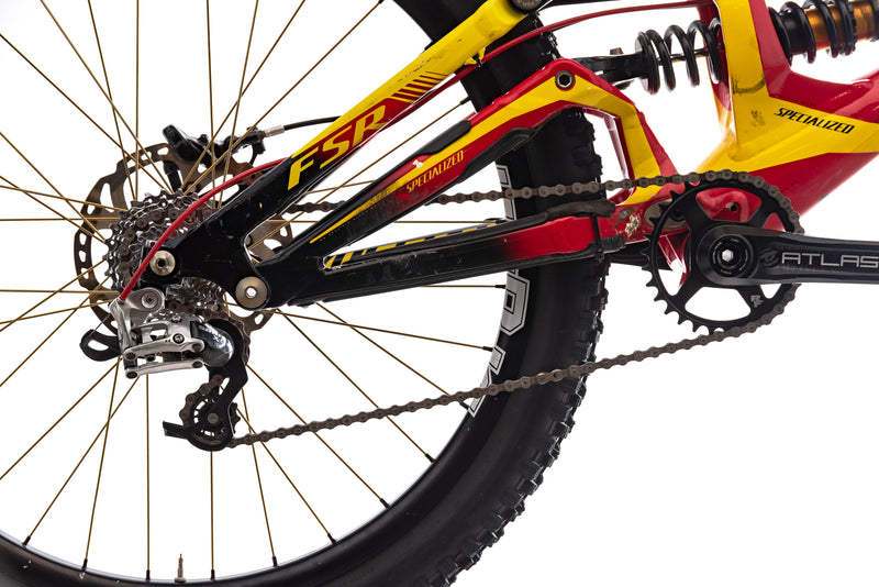 Specialized Demo 8 FSR Small Bike - 2012 drivetrain