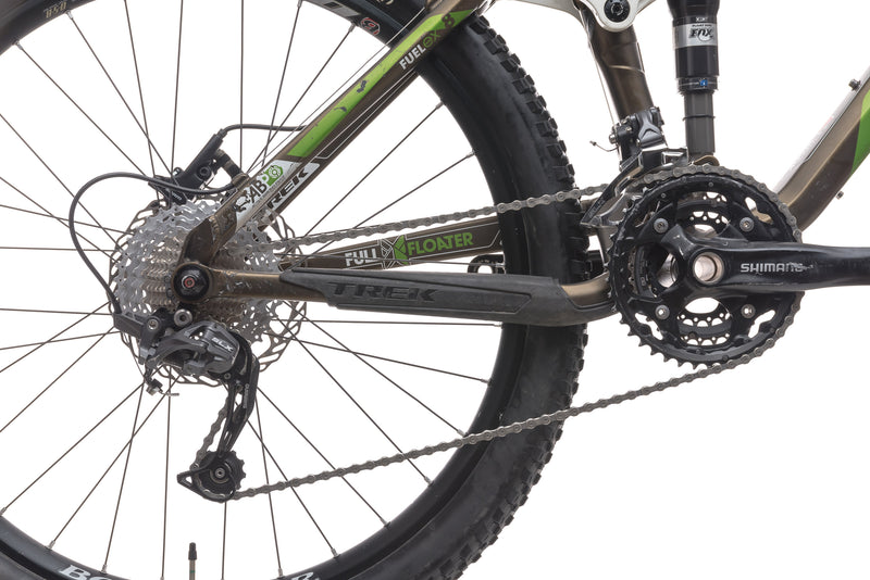 Trek Fuel EX 8 21.5in Bike - 2011 drivetrain