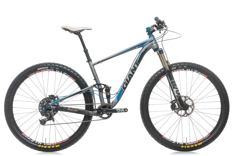 Giant Anthem X 29er 0 Medium Bike - 2012 drive side
