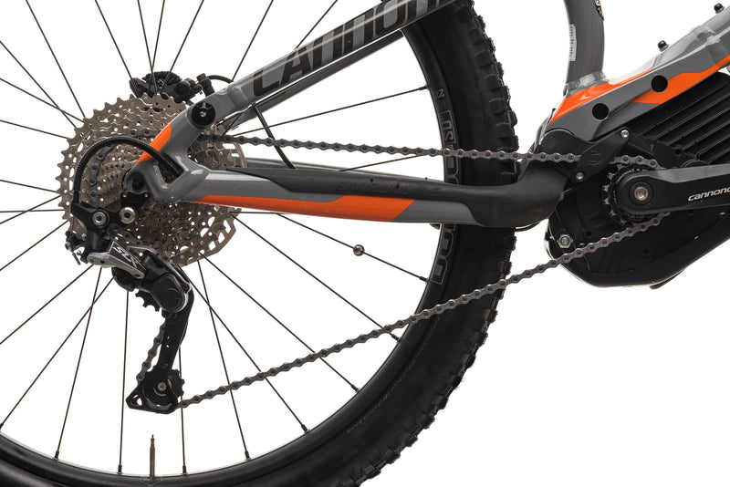 Cannondale Moterra 2 Mountain E-Bike - 2018, X-Large drivetrain