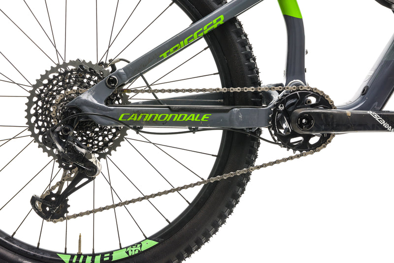 Cannondale Trigger 2 Mountain Bike - 2018, Medium drivetrain