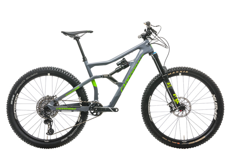 Cannondale Trigger 2 Mountain Bike - 2018, Medium drive side