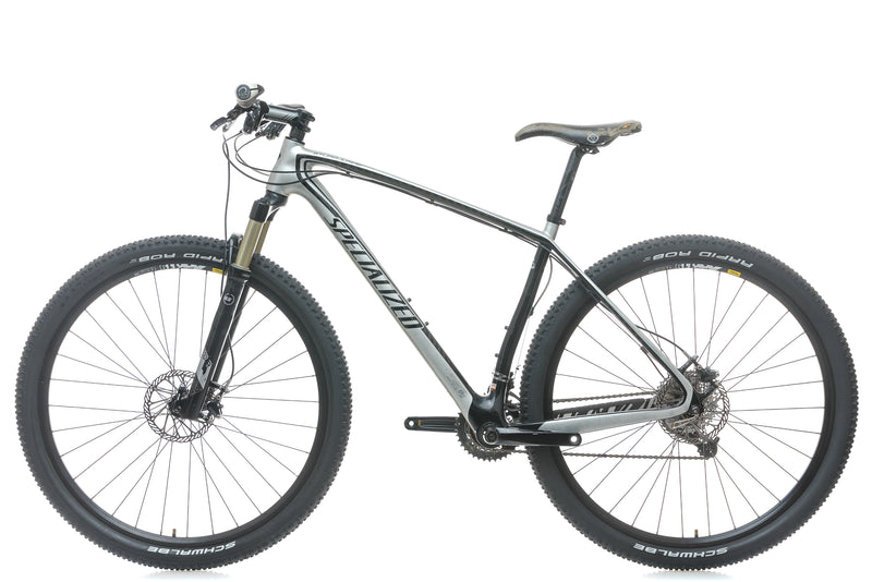 Specialized Stumpjumper Hardtail Comp Carbon 29er 19in Bike - 2011 non-drive side