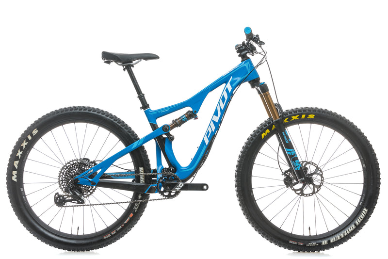Pivot Mach 429 Trail Small Bike - 2018 drive side