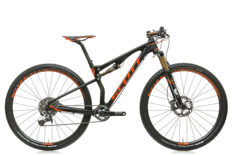 Scott Spark 900 SL Medium Bike - 2015 drive side