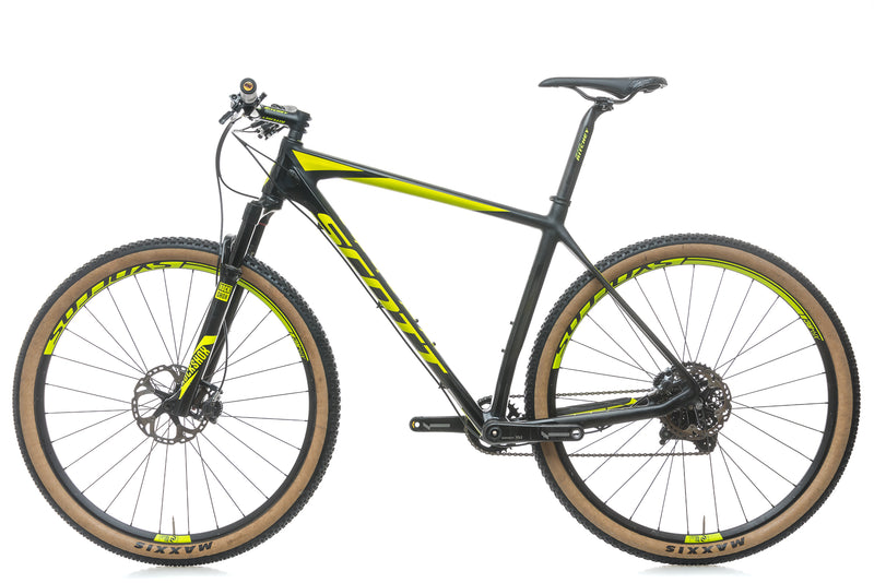 Scott Scale 900 RC X-Large Bike - 2016 non-drive side