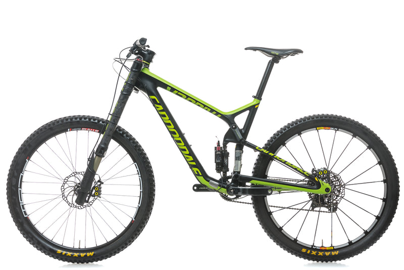 Cannondale Trigger 27.5 Carbon Team Medium Bike - 2015 non-drive side
