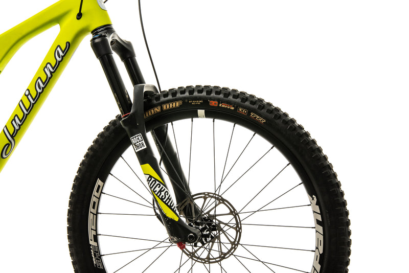 Juliana Roubion CC Womens Mountain Bike - 2017, Large cockpit