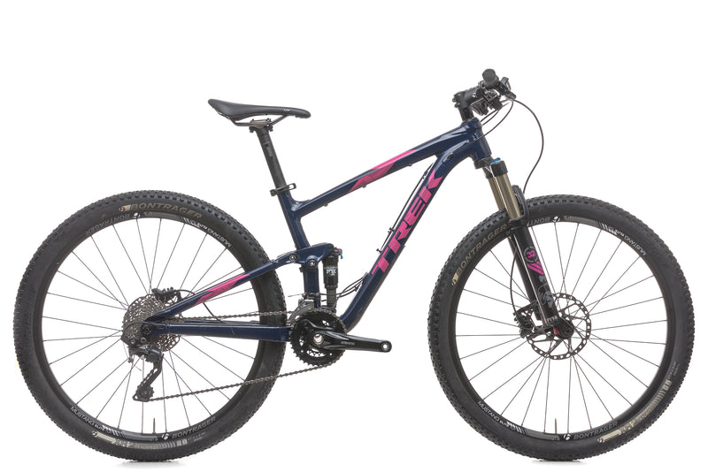 "Trek Top Fuel 8 WSD 15.5"" Womens Bike - 2016 drive side"