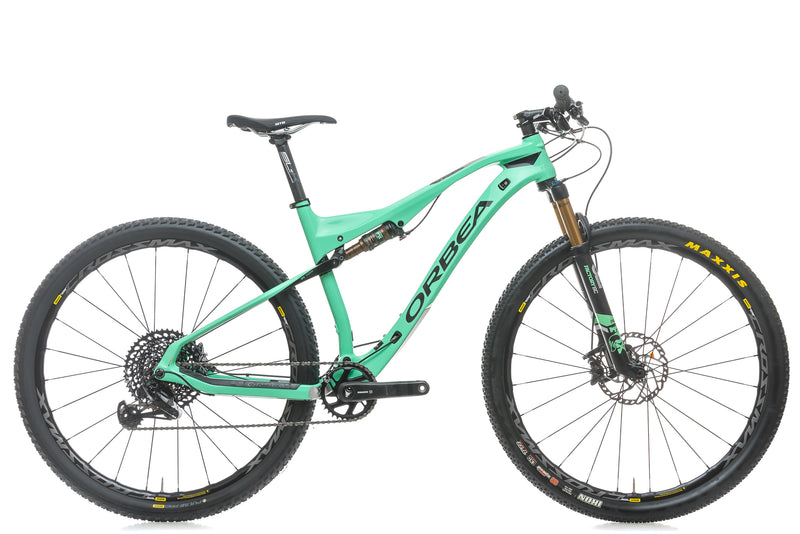 Orbea Oiz M10 Large Bike - 2018 drive side