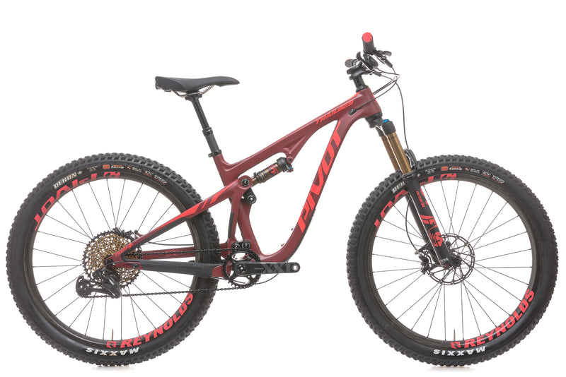 Pivot Mach Trail 29 Small Bike - 2018 drive side