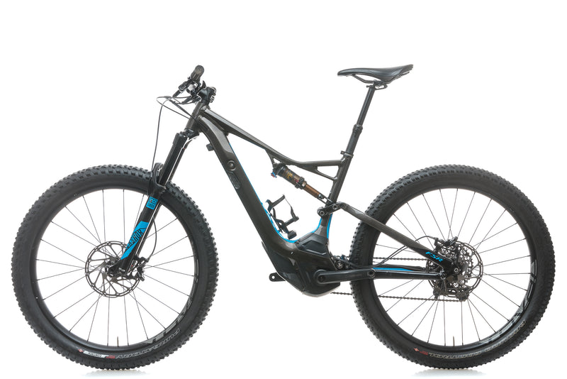 Specialized Turbo Levo FSR Expert 6Fattie Medium Mountain E-Bike - 2017 non-drive side