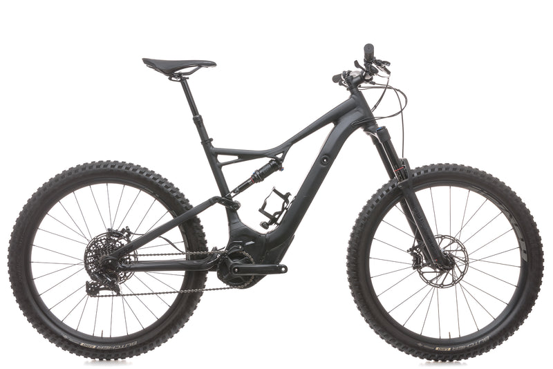 Specialized Turbo Levo FSR Comp 6Fattie/29 Large E-Bike - 2018 drive side