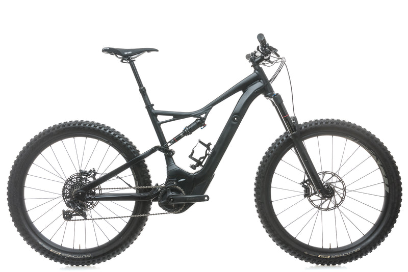 Specialized Turbo Levo FSR Comp 6Fattie/29 Large Mountain E-Bike - 2018 drive side