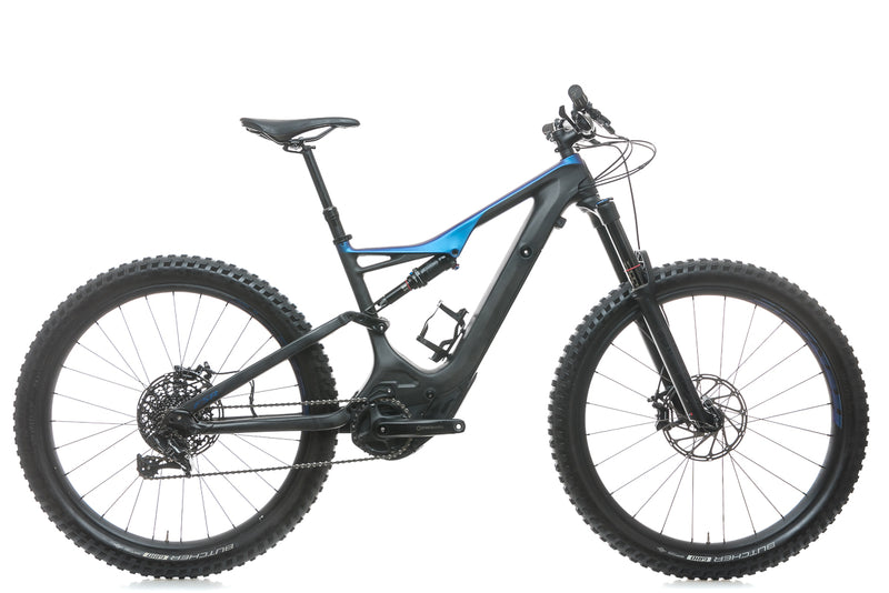 Specialized Turbo Levo FSR Comp Carbon 6Fattie/29 Medium Mountain E-Bike - 2018 drive side