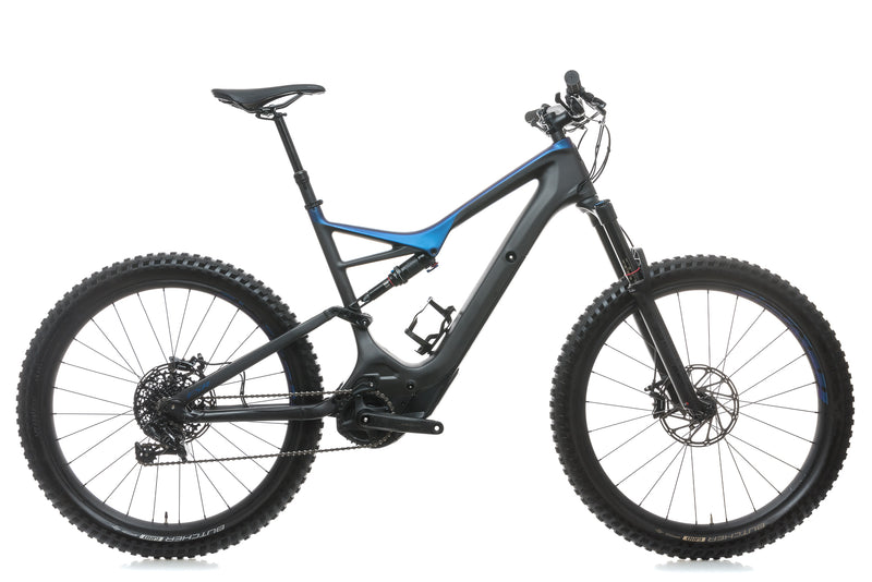 Specialized Turbo Levo FSR Comp Carbon 6Fattie/29 X-Large Bike - 2018 drive side