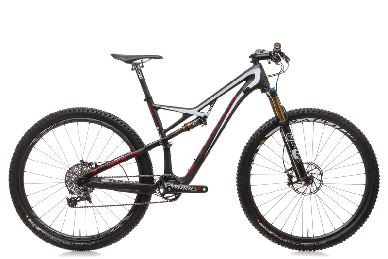 Specialized S-Works Camber Large Bike - 2015 drive side