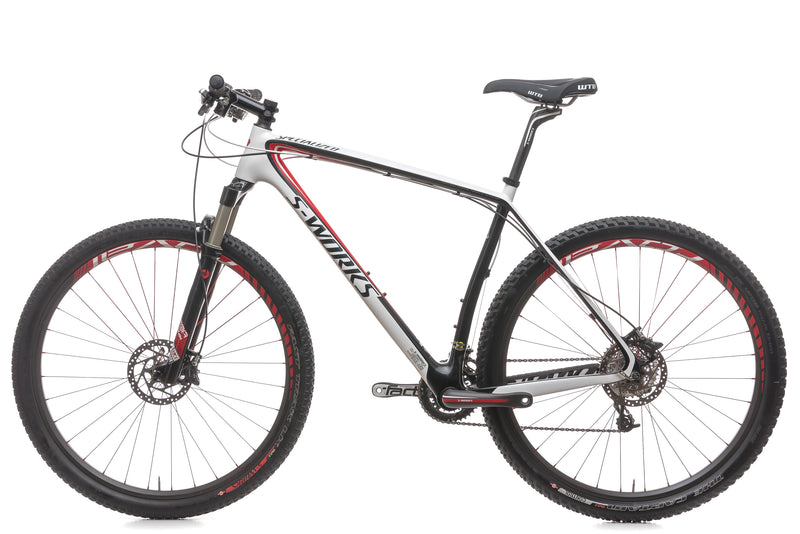 "Specialized S-Works Stumpjumper Carbon 29 21"" Bike - 2009 non-drive side"
