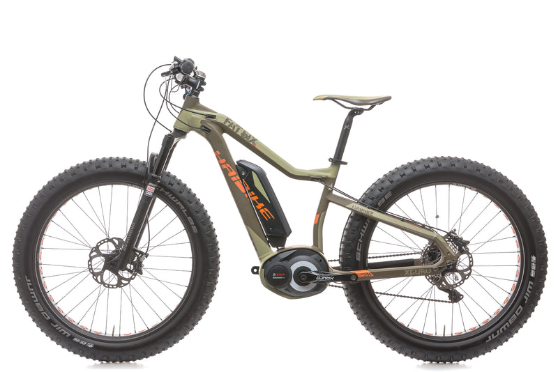 2015 Haibike Fat Six 15.5in E-Bike - 2015 non-drive side
