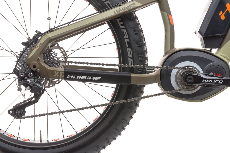 2015 Haibike Fat Six 15.5in E-Bike - 2015 sticker