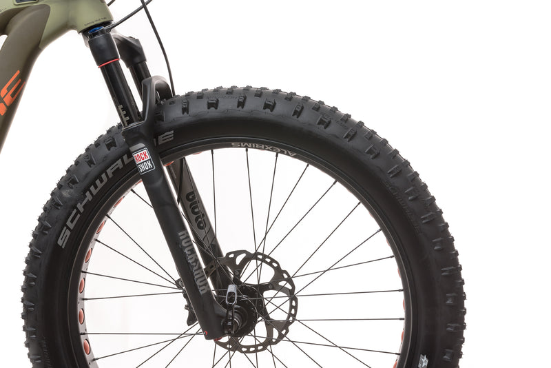 2015 Haibike Fat Six 15.5in E-Bike - 2015 drivetrain