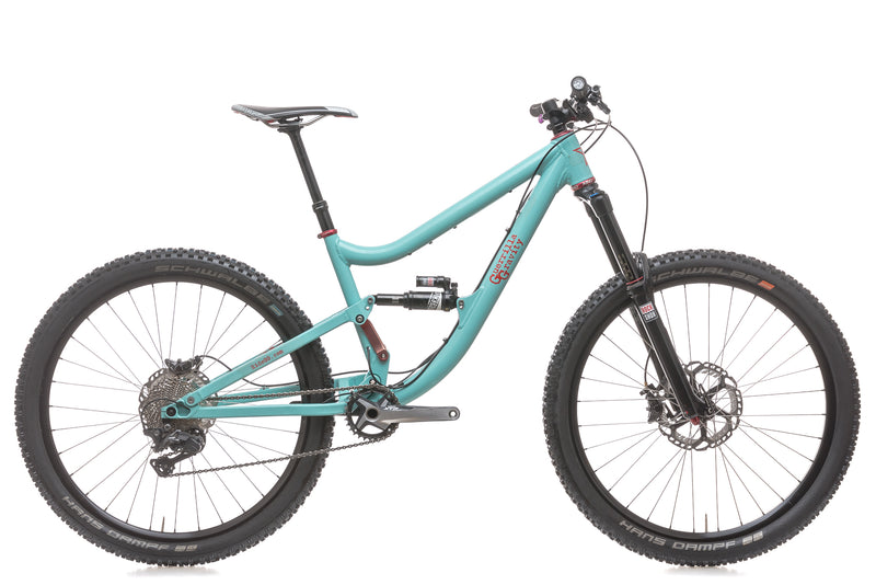 Guerrilla Gravity MegaTrail Small Bike - 2015 drive side
