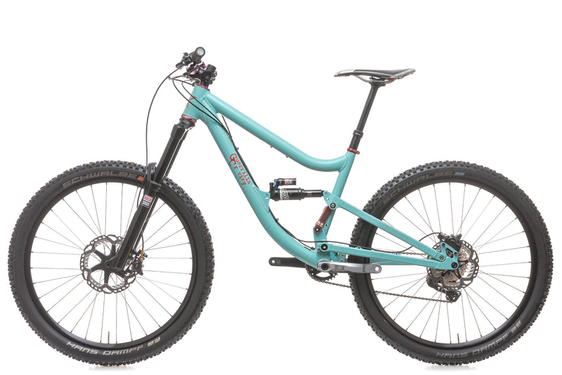 Guerrilla Gravity MegaTrail Small Bike - 2015 non-drive side