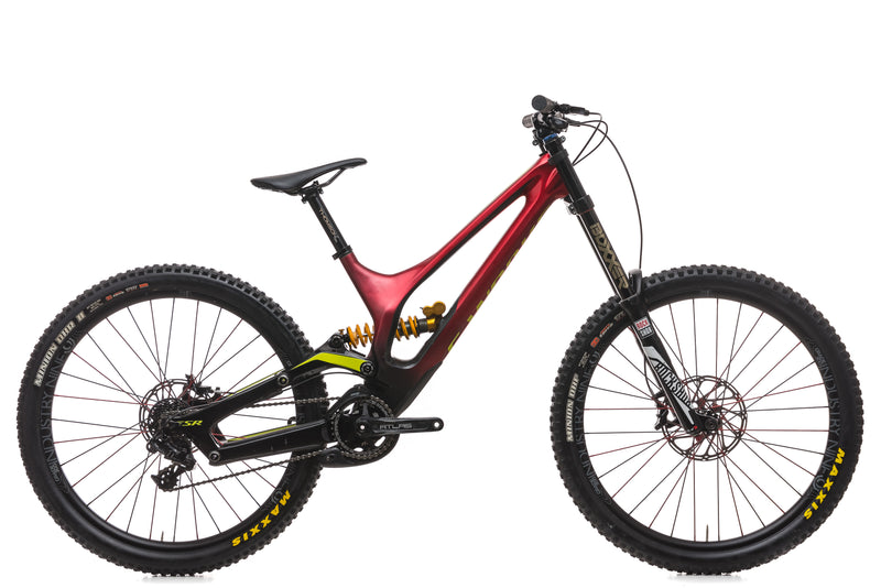 Specialized S-Works Demo 8 Medium Bike - 2017 drive side