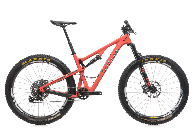 2018 Juliana Joplin CC Medium Womens Bike - 2018 drive side