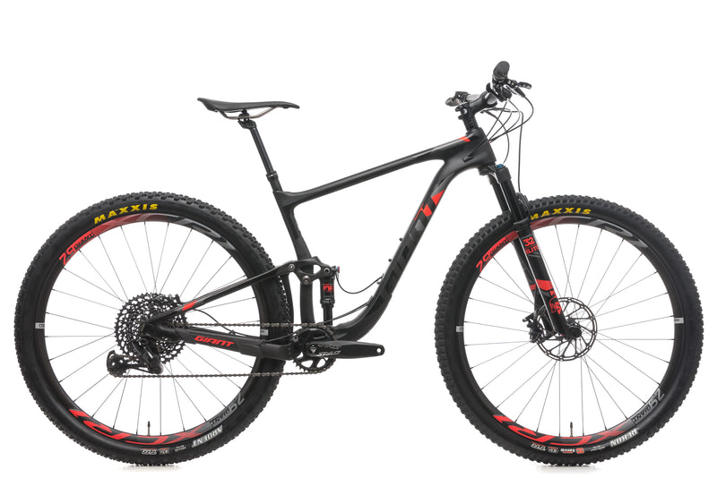 Giant Anthem Advanced Pro 29 1 Medium Bike - 2018 drive side