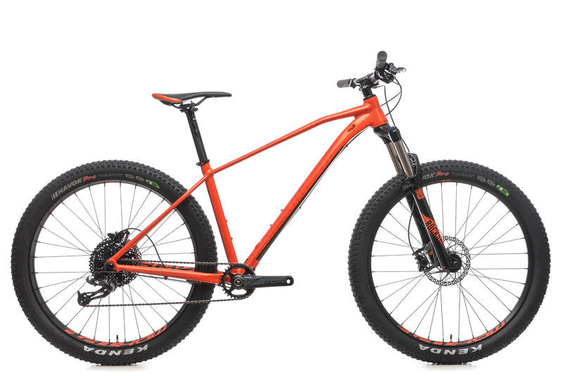 Mondraker Prime + Medium Bike - 2018 drive side