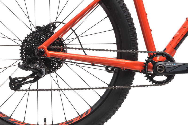 Mondraker Prime + Medium Bike - 2018 drivetrain