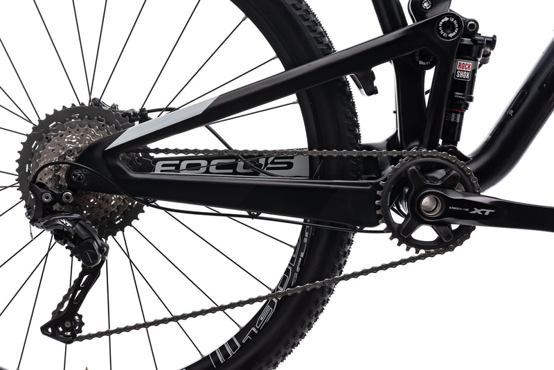 Focus O1E Pro Medium Bike - 2017 drivetrain