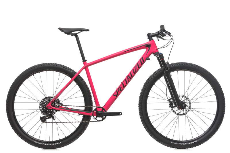 Specialized Epic Hardtail Comp Large Bike - 2018 drive side