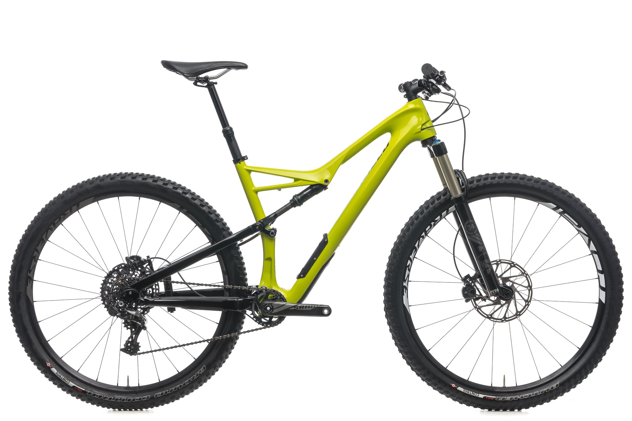 Specialized Camber Expert Carbon 29 Large Bike - 2016 drive side