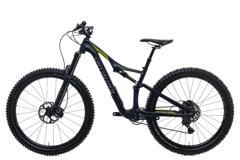 Specialized Rhyme FSR Comp Carbon 6Fattie Small Bike - 2016 non-drive side