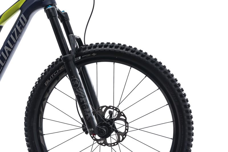 Specialized Rhyme FSR Comp Carbon 6Fattie Small Bike - 2016 cockpit