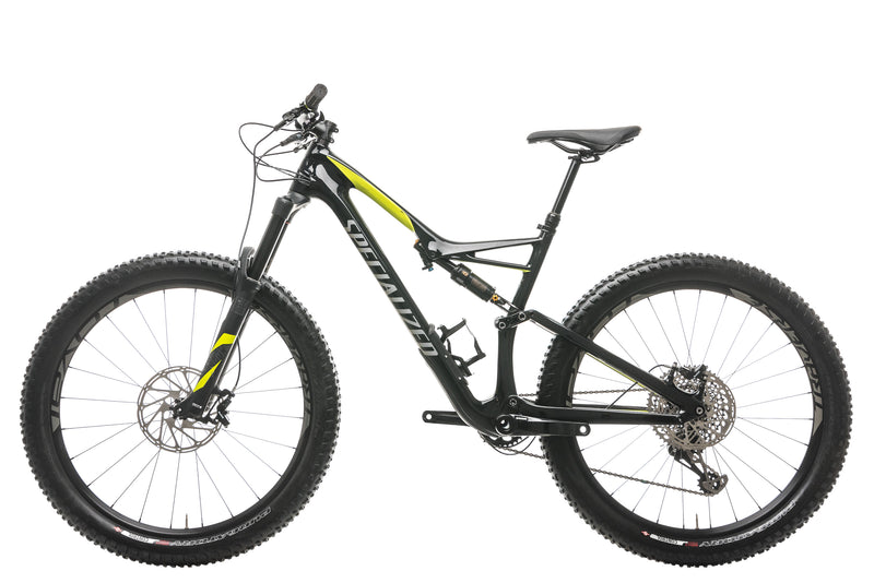 Specialized Rhyme FSR Pro Carbon 6Fattie Womens Mountain Bike - 2017, Large non-drive side