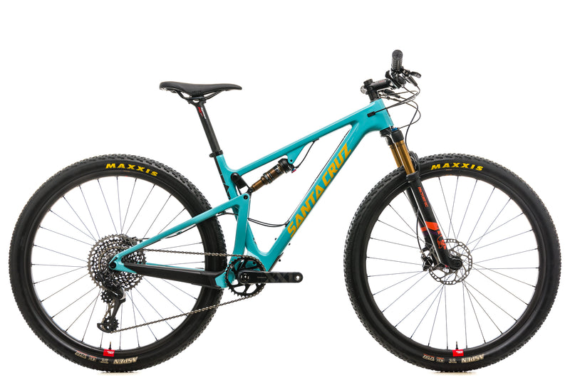 Santa Cruz Blur CC Mountain Bike - 2018, Medium drive side