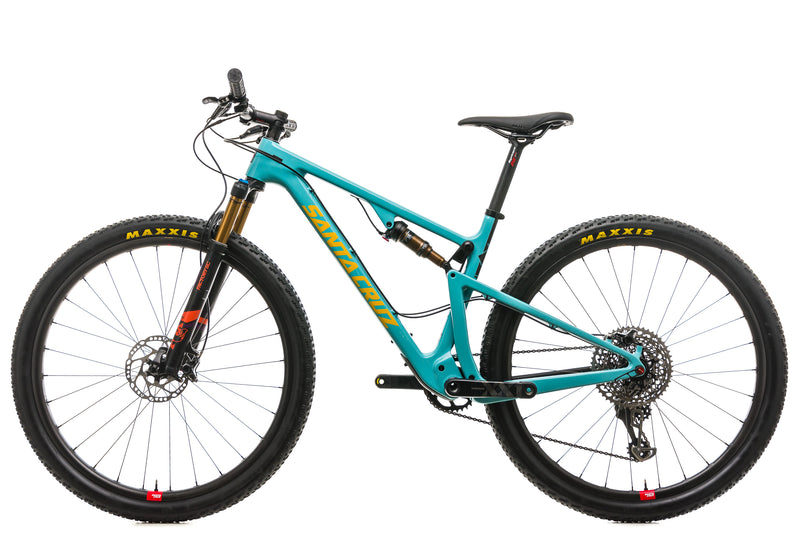 Santa Cruz Blur CC Mountain Bike - 2018, Medium non-drive side