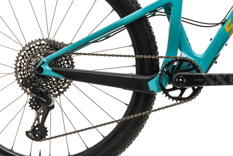 Santa Cruz Blur CC Mountain Bike - 2018, Medium drivetrain