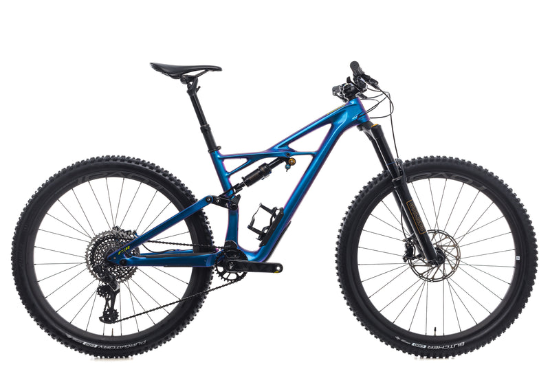 Specialized S-Works Enduro FSR Carbon 29/6 Fattie Medium Bike - 2018 drive side