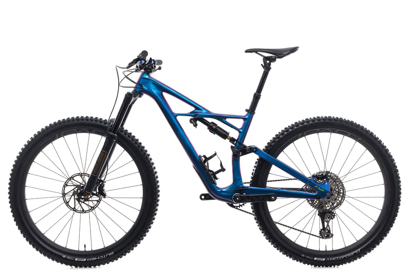 Specialized S-Works Enduro FSR Carbon 29/6 Fattie Medium Bike - 2018 non-drive side