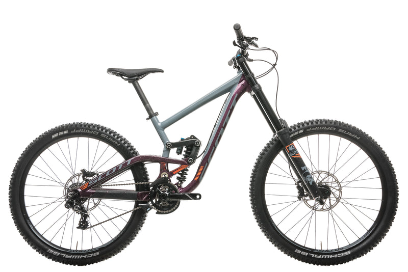 Scott Gambler 720 Downhill Bike - 2018, Small drive side