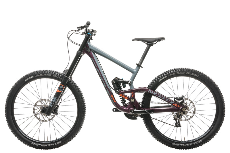 Scott Gambler 720 Downhill Bike - 2018, Small non-drive side